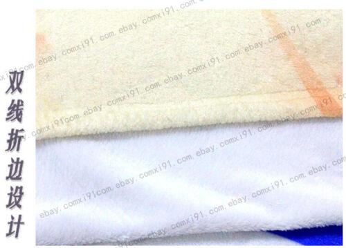 Anime Date A Live Cosplay Travel Flannel Plush Otaku Blanket Gift 100×120cm #T34