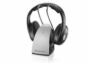 Sennheiser RS120 II Wireless RF Headphones With Charging Dock Certified Refurb