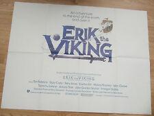 Monty Python ERIK THE VIKING(1989)Original advance movie poster UK POST FREE