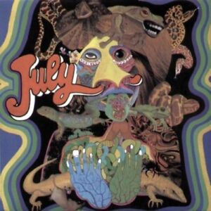 NEW-CD-Album-Psychedelic-60-039-s-July-Self-Titled-Mini-LP-Style-Card-Case