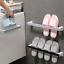 Self-adhesive Towel Holder Rack Wall Mounted Towel Hanger Bathroom Towel Bar She