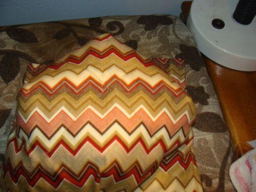 Micro-ondes Bol Support Bol Cozy Bol Maniques Chevron Earth Tone bowl cover