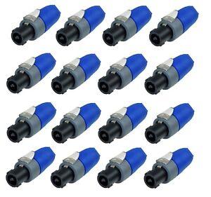 16-Pack-Genuine-NEUTRIK-NL2FX-2-Pole-Cable-end-Female-speakOn-Connectors-New