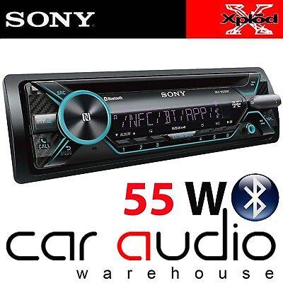 Sony MEX-N4200BT car radio Bluetooth Handsfree kit VW Bora CD player