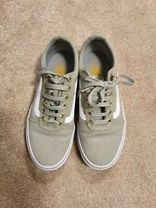 Vans Womens Olive Shoes Trainers Uk Size 5 Ebay