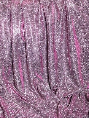 """5 MTR Sparkly Sequin Fabric bridal wedding costume strech backdrop Tulle 58/"""""""