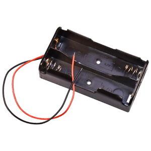 Batteriehalter-fur-2x-Lithum-3-7V-Typ-18650-Zelle-fur-Akku-Halterung-mit-Kabel