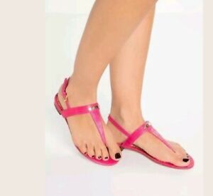 Ralph Lauren Thong Sandals in Pink Size UK 4.5