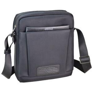 986e688afee34 Das Bild wird geladen Herren-Umhaengetasche-Schulter-Messenger-Bag-iPad- Tablet-Tasche-