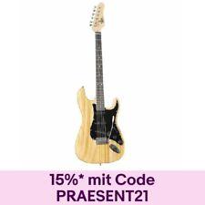 Fame ST Special SE NT E-Gitarre, elektrische Gitarre mit Single Coil Tonabnehmer