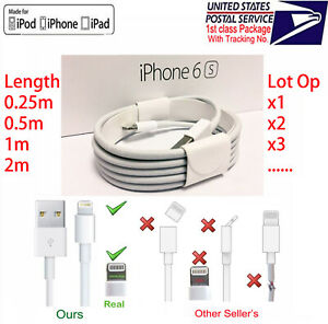 OEM-Original-Lightning-to-USB-Charging-Cable-for-Apple-iPhone5-6-7-8-X-XS-XR-Lot