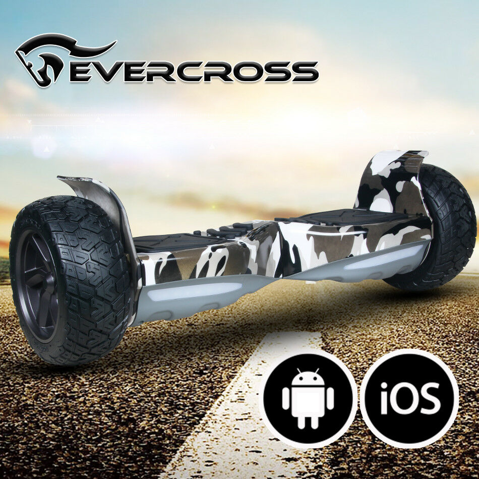 HOVERBOARD 8.5'' bluTOOTH&APP ELETTRICO SCOOTER SMART BALANCE OVERBOARD LED