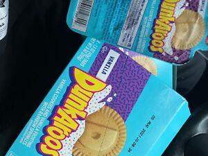 Dunkaroos 6 Pack Snack Vanilla Creme Rainbow Sprinkles Nostalgia Rare IN HAND