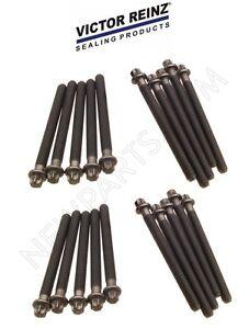 20-Piece Oem Reinz Engine Cylinder Head Bolts SET BMW 540i 740i 740iL 840Ci NEW