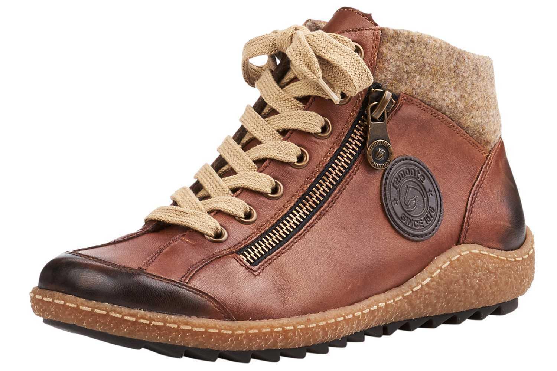 Remonte botas en talla extragrande grandes zapatos señora marrón XXL