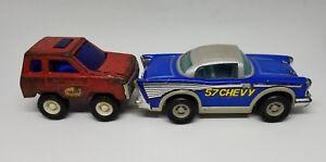Vintage-Buddy-L-Texaco-Truck-Buddly-amp-57-Chevy-Lot