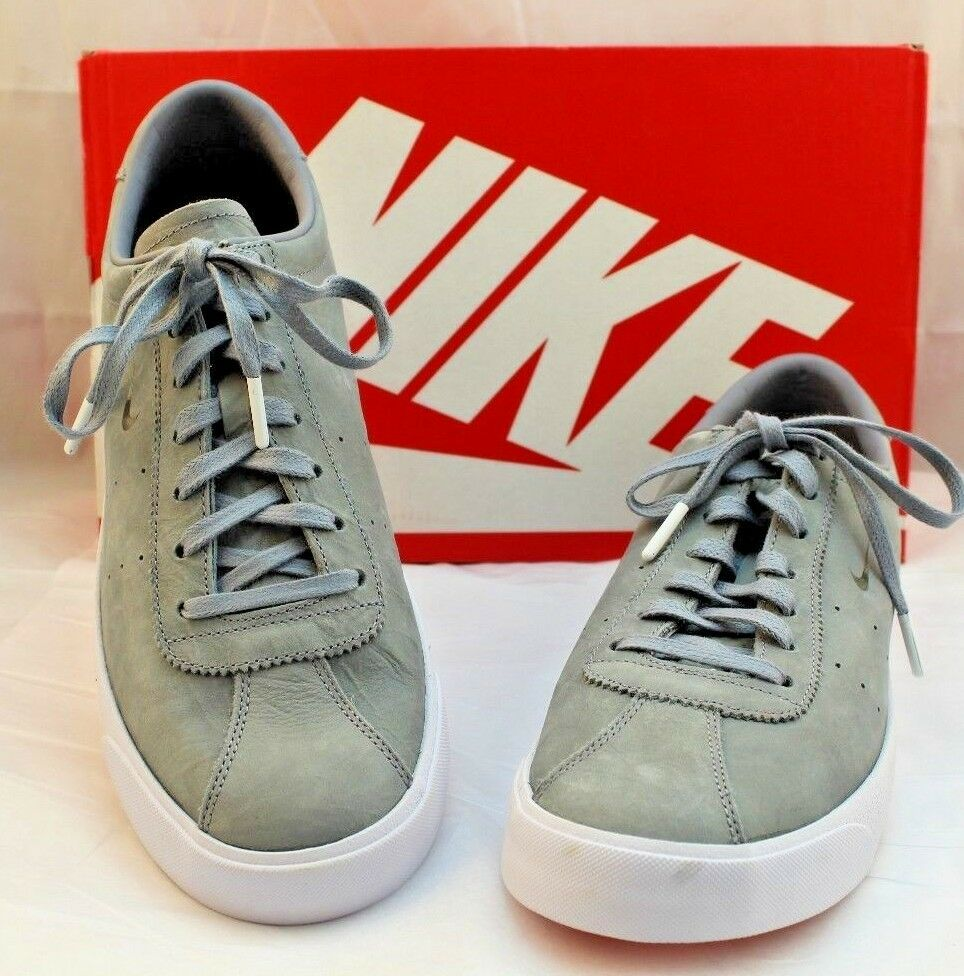 cfcc4a5011df9 ... New NIKE Match Classic LX LX LX Gray Suede Leather Sneaker Men s Size 10  RETAIL  130 ...