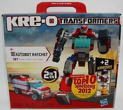 **NEU** KRE-O Transformers Hasbro 30662 Ratchet **OVP**