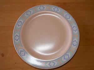 Image is loading Treasure-Craft-Japan-SOUTHWEST-Set-of-8-Dinner- & Treasure Craft Japan SOUTHWEST Set of 8 Dinner Plates 10 5/8\