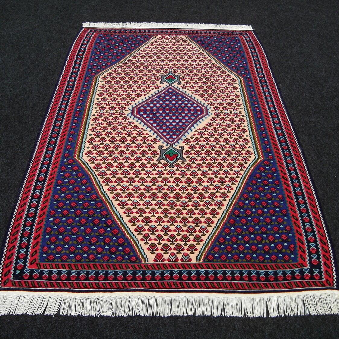 Orient alfombra Kilim 164 x 112 cm Kilim tejida alfombra persa Carpet alfombra
