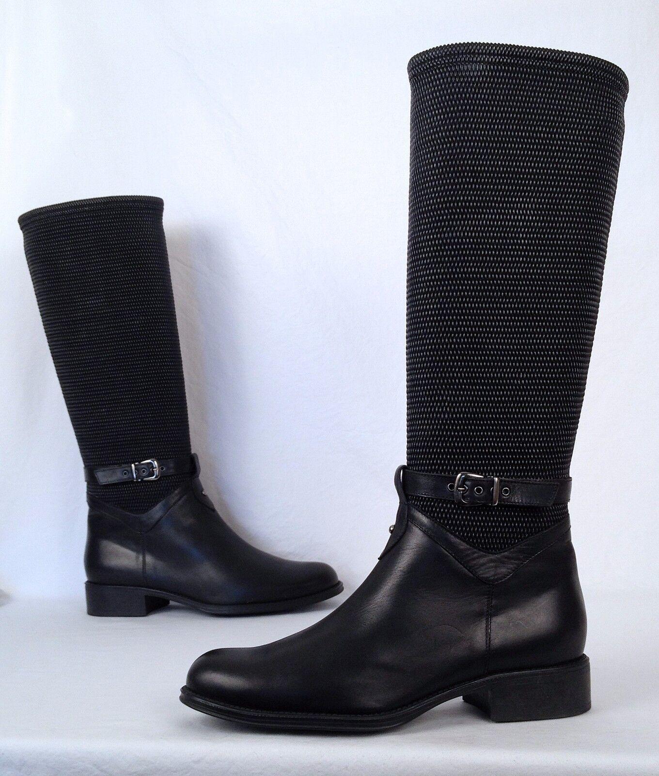 Aquatalia by Marvin K 'Undy' Boot- Black- Size 10 US-  598  (B14)