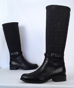 68a4012db0b3 Aquatalia by Marvin K  Undy  Boot- Black- Size 10 US-  598 (B14)