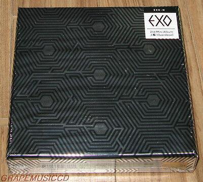 EXO EXO-M 2ND MINI ALBUM OVERDOSE 上瘾 CHINESE VER. CD + PHOTOCARD & FOLDED POSTER