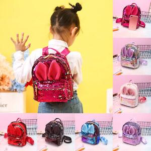 Toddler-Kid-Children-Boy-Girl-3D-Cartoon-Animal-Backpack-School-Bag-Rucksack-UK