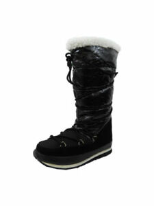 91a67fcfcdb Details about SALE £55 // Rubber Duck Womens Winter Snow Ski Artic Nylon  Boots Shoes in Black