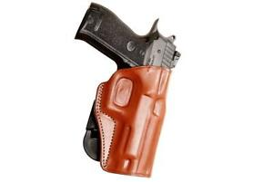 Details about Premium Leather OWB Paddle Holster Open Top Fits, Sarsilmaz  K2-45 4 7