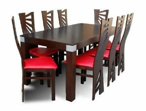 Image Is Loading Dining Table 8 Chairs Room Set Area Gruppentisch
