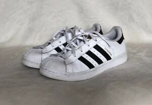 kids adidas Superstar Shoes - White