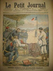 GUINeE-AKRA-EXPLORATEUR-VICOMTE-DU-BOURG-DE-BOZAS-CHASSE-DAUPHINS-PETIT-JOURNAL