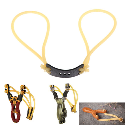Elastic rubber band bungee replacement for slingshot catapult huntingSS!