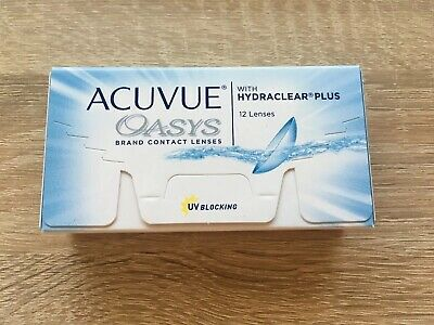 Acuvue Oasys Hydraclear Plus 1x12 Linsen, D: -4.75, Bc: 8.4, Dia 14.0 Modische Muster