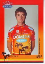 CYCLISME carte cycliste ELIA RIGOTTO  équipe DOMINA VACANZE 2005