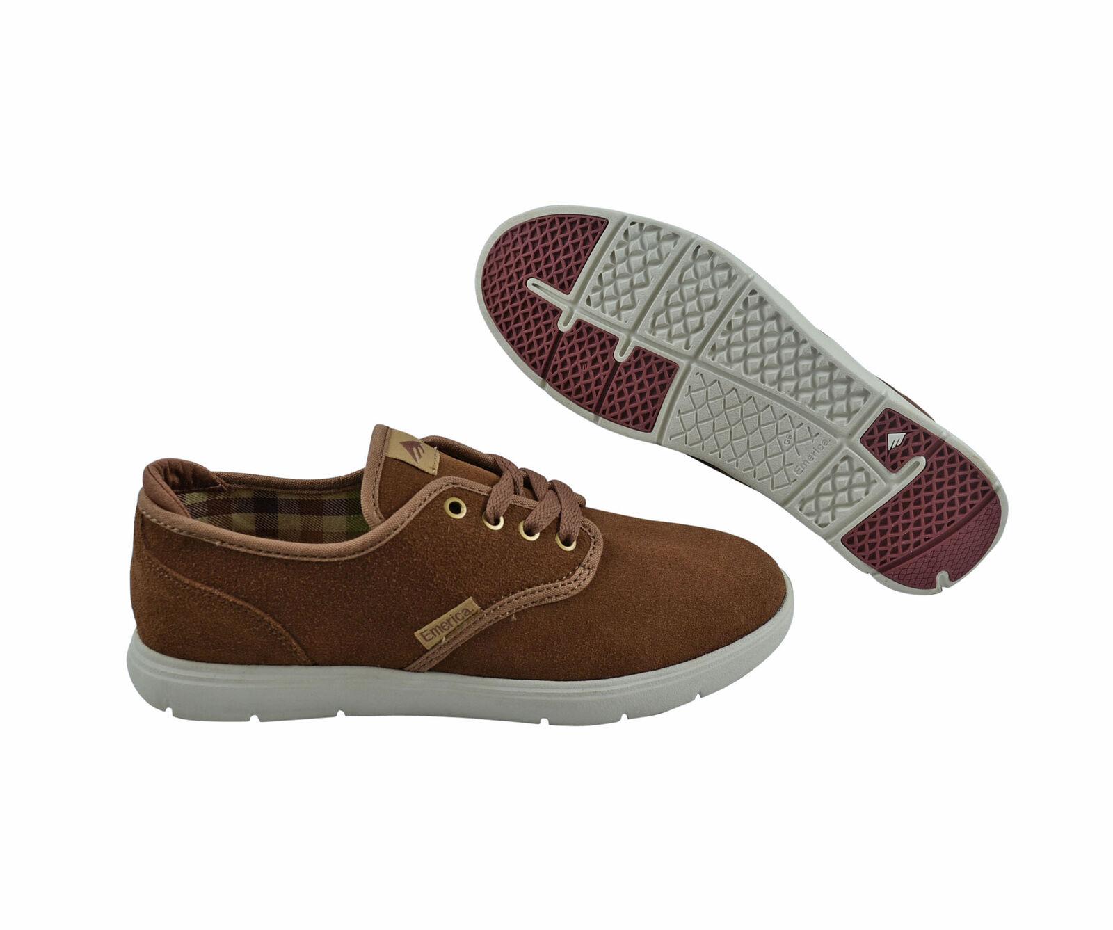 Emerica wino Cruiser Cruiser wino LT Marrón/Marrón skater Sneaker/zapatos marrón 9d8516