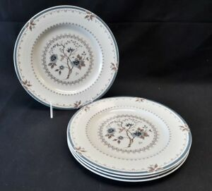 Royal Doulton Old Colony TC1005 Set of 4 Luncheon Plates