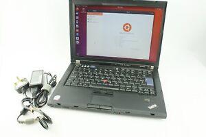 Details about Lenovo ThinkPad T61 Black Laptop SSD Ubuntu Used
