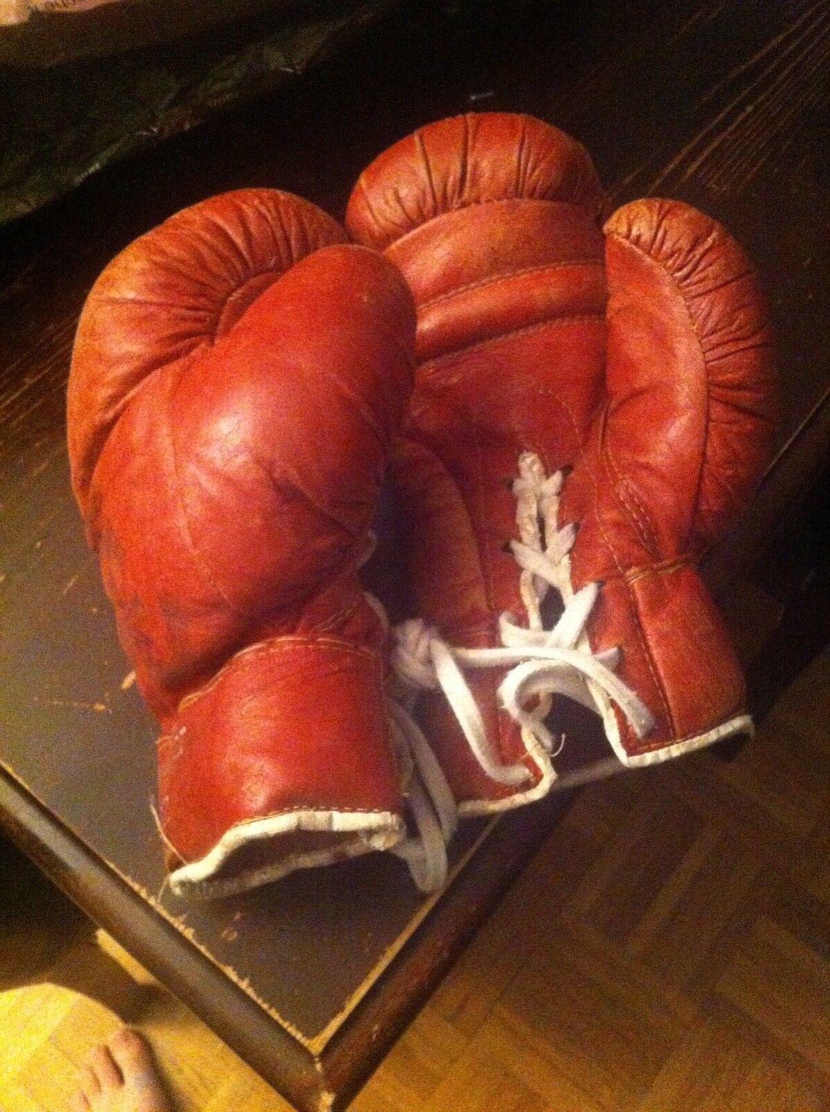 Boxhandschuhe Kinder Box Handchuhe aus Leder | Retro Vintage Requisite Requisite Vintage 04c9e7