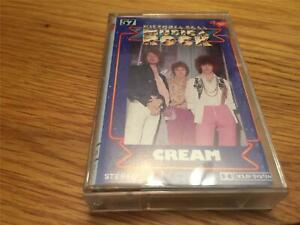 Cream Self Titled Cassette Tape RSO with paper label