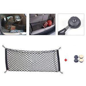 1x-Universal-Black-Car-Trunk-Rear-Cargo-Organizer-Storage-Nylon-Elastic-Mesh-Net