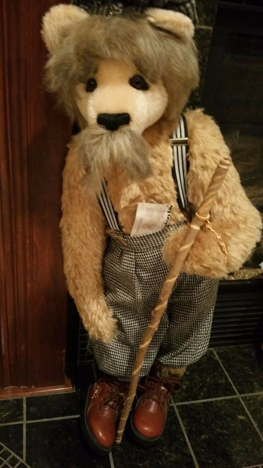 grigioFriars 28  Bobby by Nostalgic Bears one of a kind by Sue and Randall Foskey