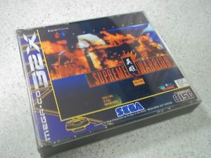 SUPREME-WARRIOR-SEGA-MEGA-CD-32X-PAL-EMPTY-REPLACEMENT-CASE-INLAYS-ONLY