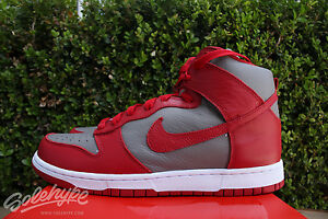 NIKE DUNK HIGH QS UNIVERSITY RED UNLV BE TRUE TO YOUR SCHOOL 850477 001