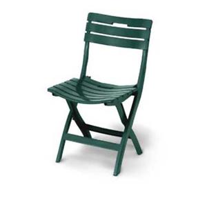 Sedie Plastica Pieghevoli Da Giardino.Poltrona Sedia In Plastica Da Giardino Pieghevole Butterfly Verde