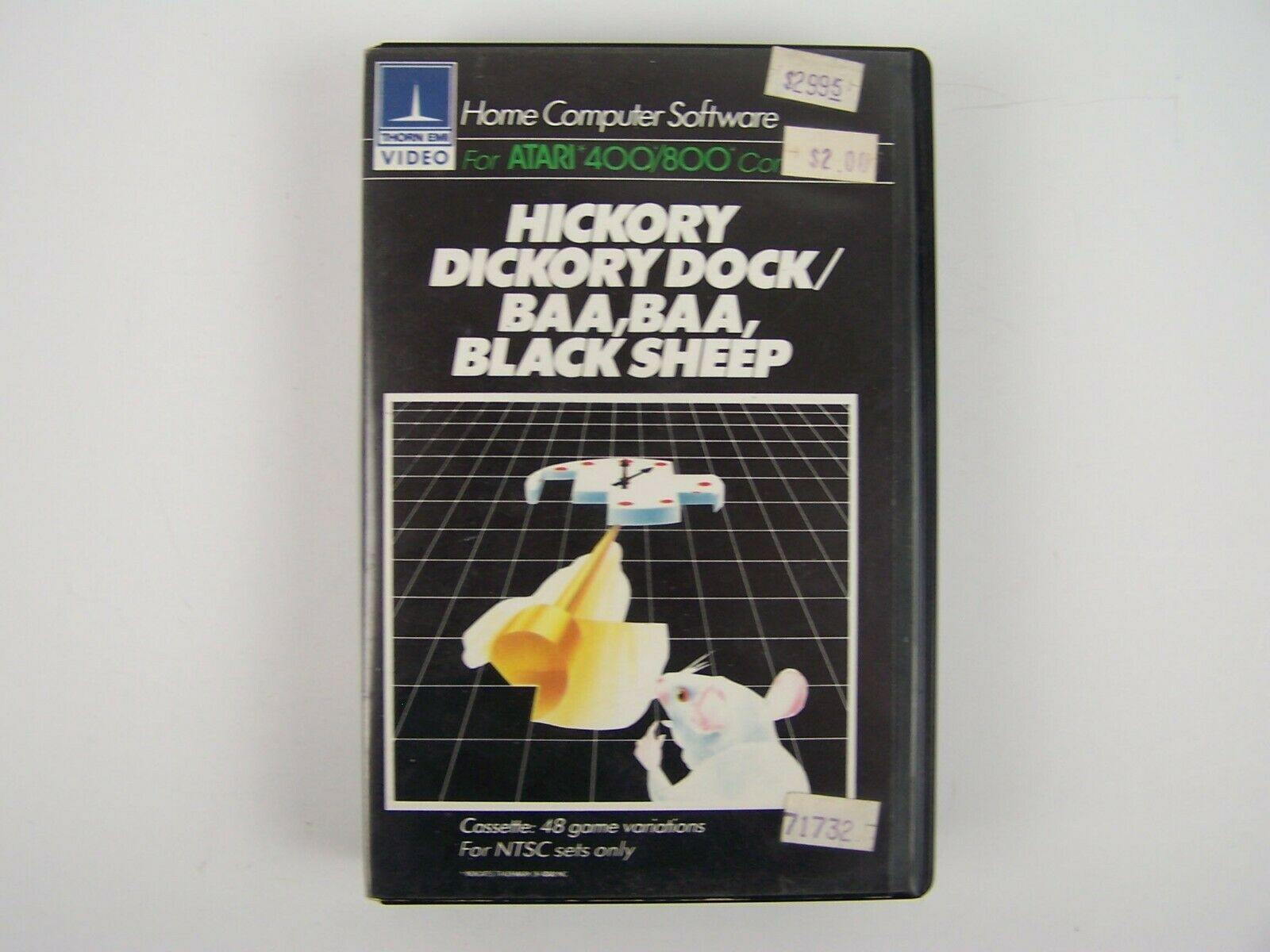 Atari 400/800 Computer Software Hickory Dickory Dock /