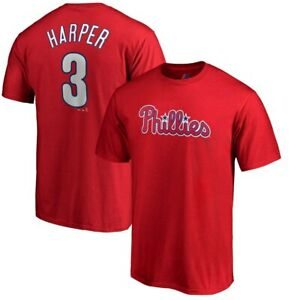 Youth-Philadelphia-Phillies-Bryce-Harper-Majestic-Red-Jersey-T-Shirt