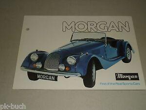 Details Sur Voiture Publicite Prospectus Morgan Sport Voiture 4 4 Et Plus 8