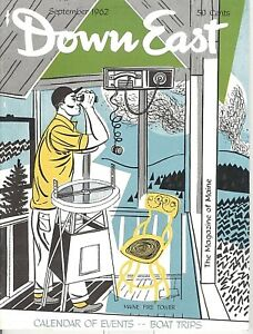Details about DOWN EAST MAGAZINE~SEPTEMBER 1962